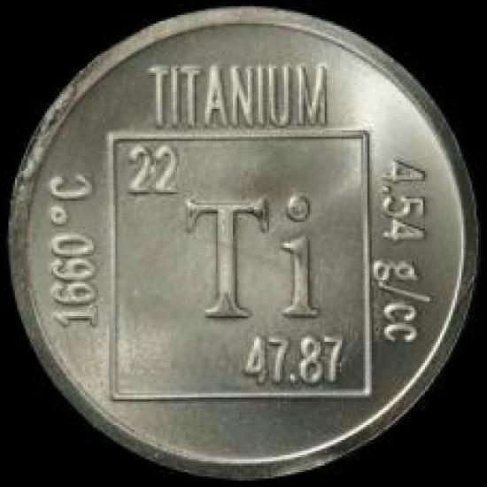 تیتانیوم (Ti) ؛ 45 میکرون