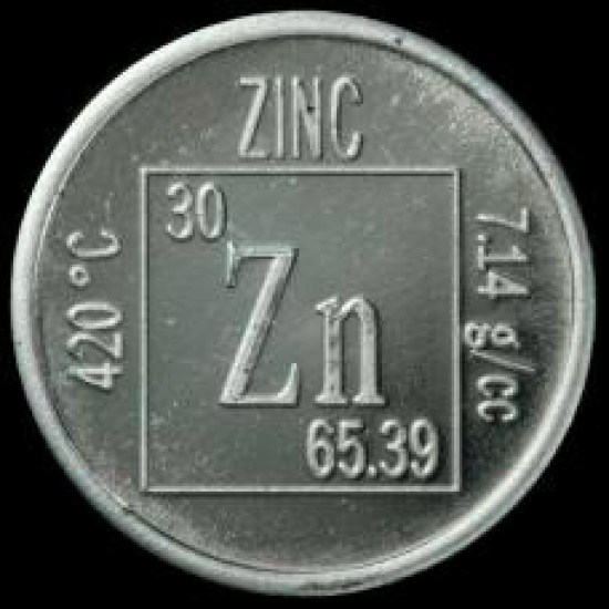 زینک (روی) (Zn) ؛ 25 میکرون
