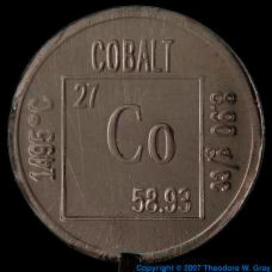 کبالت (Co) ؛ 10-  میکرون